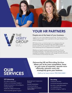 The Verity Group HR Outsourcing & Recruiting Services